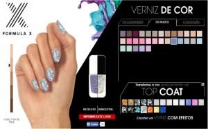 Experimenta a combinação de cores com o painel interactivo