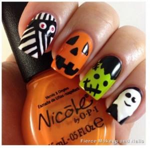 Unhas Halloween