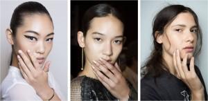 Tendências unhas 2015, NY Fashion Week