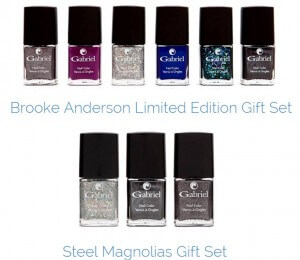"""""""Gift set"""" de vernizes Brook Anderson & Gabriel, edição limitada"""
