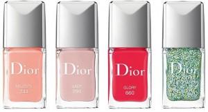 """Vernizes da coleção """"Dior Kingdom of Colors Spring 2015"""""""