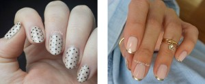 Nail art para manicuras nude