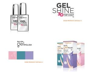 Gel Shine 3D Top Coat, Sally Hansen