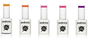 """Vernizes de gel da coleção """"Neon Shake"""", Andreia"""