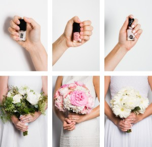 Cores de verniz para noivas