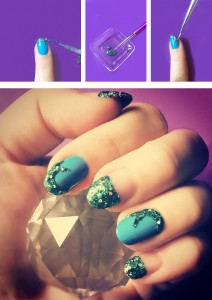 Mermaid Tail Manicure, Orly Dare to Dream