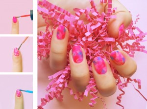 Colors of the Wind Nail Art, Orly Dare to Dream