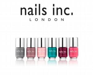 A Nails Inc é a marca de vernizes Nº1 do Reino Unido