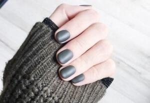 O cinza matte é uma cor tendência para esta estação